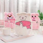 暖手袋    注水式熱水袋可愛韓版卡通學生成人絨布可拆洗暖手寶隨身防爆 宜室家居