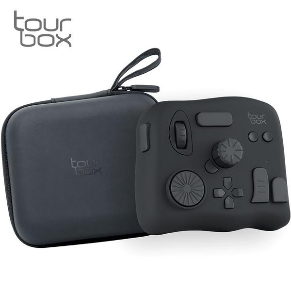 又敗家TourBox軟體控制器NEO含收納包TBG_H_LN剪輯師繪圖鍵盤剪接師達文西PR後製鍵盤片師PS修圖控制板