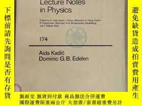 二手書博民逛書店lecture罕見notes in physics 174 A gauge theory of dislocati