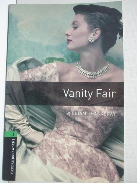 【書寶二手書T8/原文書_IJ3】Vanity Fair_Mowat, Diane (RTL)/ Thackeray, William Makepeace (ILT)