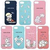 韓國 愛跳舞的兔子 浮誇兔 強化軟殼 手機殼│iPhone 6S 7 8 Plus X XS MAX XR│z8343