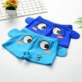 兒童泳褲 男童中小童嬰幼兒泳衣卡通可愛游泳褲 萌寶寶平角泳裝  小時光生活館
