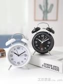 機械超大聲可愛小鬧鐘創意簡約學生用靜音時鐘床頭起床神器兒童男 【快速出貨】