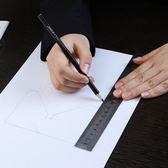 ♚MY COLOR♚可掛式不銹鋼直尺(20cm) 刻度尺 雙面 直尺 短尺 測量 學生文具 多功能【P497】