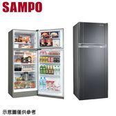 【SAMPO聲寶】340公升變頻雙門冰箱SR-A34D (S3)