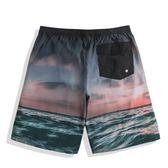 黑五好物節 速浪印花沙灘褲男速干寬鬆健體比賽海邊度假泰國花短褲夏季大褲衩 東京衣櫃