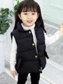 兒童馬甲女童馬甲兒童羽絨棉馬甲外穿馬夾秋冬款韓版女孩外套寶寶馬甲男童 新年禮物