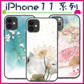 Apple iPhone11 Pro Max 中國風手機殼 文青保護套 復古畫系背蓋 彩繪手機套 詩畫風保護殼 黑邊