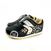FILA 魔鬼氈 輕量 透氣網面 賽車電燈鞋 運動鞋《7+1童鞋》4203 黑色