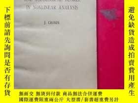 二手書博民逛書店fixed罕見points and topological degree in nonlinear analysi