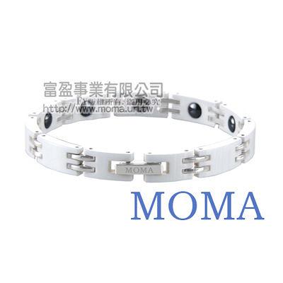 【MOMA】陶瓷鍺磁手鍊窄版-M67L