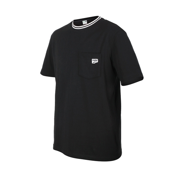 PUMA 男Down town口袋短袖T恤(亞規 純棉 慢跑 路跑 休閒 上衣≡體院≡ 53143201
