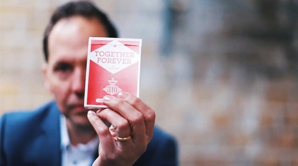 【USPCC撲克】Copag 310 Together Forever (Red) Playing Cards S103050266