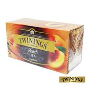 英國【TWININGS 唐寧】香甜蜜桃茶 Peach Tea 2g*25入/盒