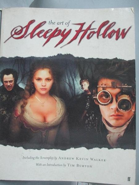 【書寶二手書T3/影視_PLE】The Art of Tim Burton s Sleepy Hollow_Andrew Kevin Walker