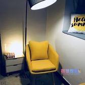 電腦椅 靠背椅現代簡約懶人休閒單人沙發北歐房間家用臥室書桌椅JY【快速出貨】