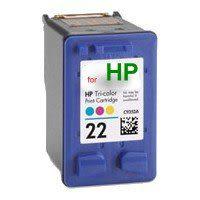 HP環保墨水匣C9352A(22)彩色 適用型號 PSC1410/DJ-3920/3940/F2120/F370/F4100/D2460/4355/5610/J3608  C9352/9352A/93..