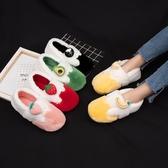 棉拖鞋女冬室內居家可愛親子棉鞋產後包跟月子鞋情侶家用男士棉拖   koko時裝店