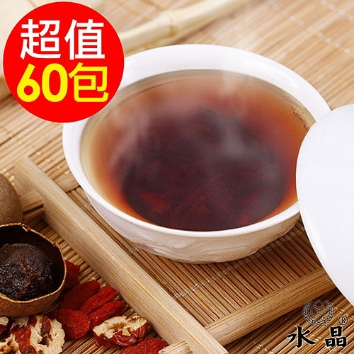 【水晶】桂圓紅棗茶包12袋(共60包)