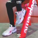 IMPACT Adidas Originals Falcon 銀 灰 桃 撞色 厚底 復古 老爹鞋 D96757
