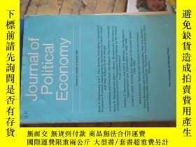 二手書博民逛書店c0008journal罕見of political econo