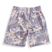 五分平角寬鬆快乾游泳褲男士高端彈力沙灘褲海灘褲潮   卡菲婭