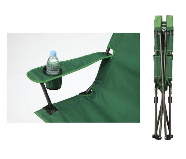 【偉盟公司貨】丹大戶外【Coleman】CM-0503J 高背紓壓椅(綠) 紓壓椅/高背椅/折疊椅