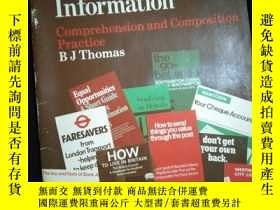 二手書博民逛書店Practical罕見Information Comprehenion and Composition Pract