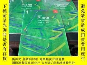 二手書博民逛書店selected罕見Piano exam pieces 2011&2012 with cd Grade 1.3.5
