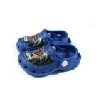 POWER DINOSAUR 涼鞋 花園鞋 藍色 中童 童鞋 A203904-550 no065
