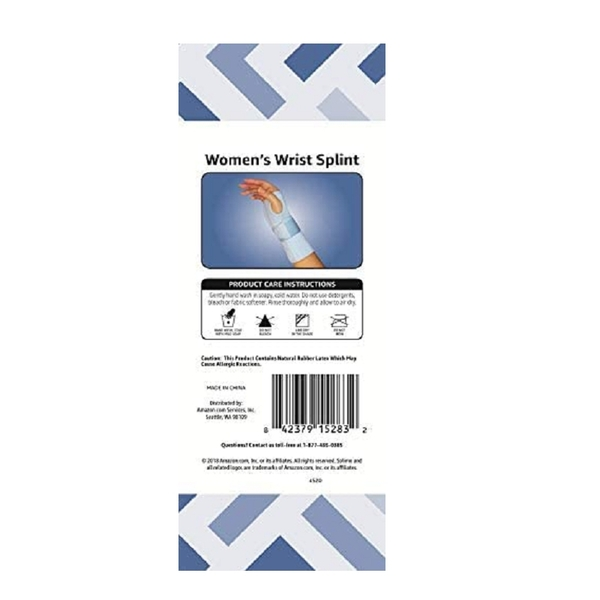 Amazon Solimo 右手護腕 1入 Women s Wrist Splint [2美國直購]
