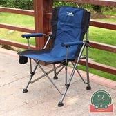 加大加粗簡易折疊便攜式野營家用椅戶外沙灘椅【福喜行】