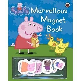 【麥克書店】 MARVELLOUS MAGNET BOOK /粉紅豬小妹趣味磁鐵書