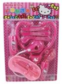 【卡漫城】 Hello Kitty 醫護 遊戲組 聲光 桃紅聽筒 ㊣版 醫生 小護士 打針 扮家家酒 兒童 玩具 針筒