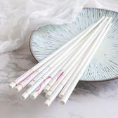 日式陶瓷筷子家用6雙套裝健康環保防滑骨瓷筷子高檔餐具禮品
