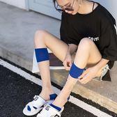 襪子女小腿襪透明水晶襪夏季薄款ins潮長襪中筒襪玻璃 絲襪及膝襪