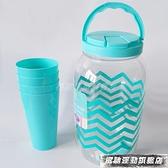 冷水壺 帶水龍頭的水壺家用 水龍頭涼水壺塑料冷水壺放冰箱帶龍頭水壺 風馳
