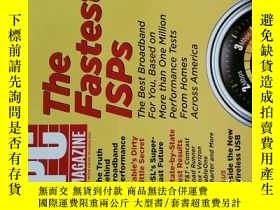 二手書博民逛書店PC罕見Magazine 2007年6月26日 英文個人電腦雜誌 可用樣板間道具雜誌Y14610