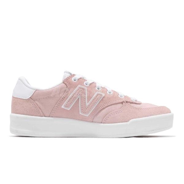 【五折特賣】New Balance 休閒鞋 300 NB 粉紅 白 麂皮鞋面 N字鞋 粉粉DER 女鞋 運動鞋【ACS】 WRT300HAD