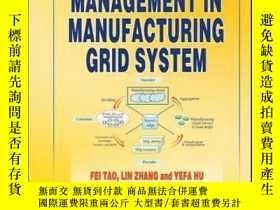 二手書博民逛書店Resource罕見Service Management in Manufacturing Grid System