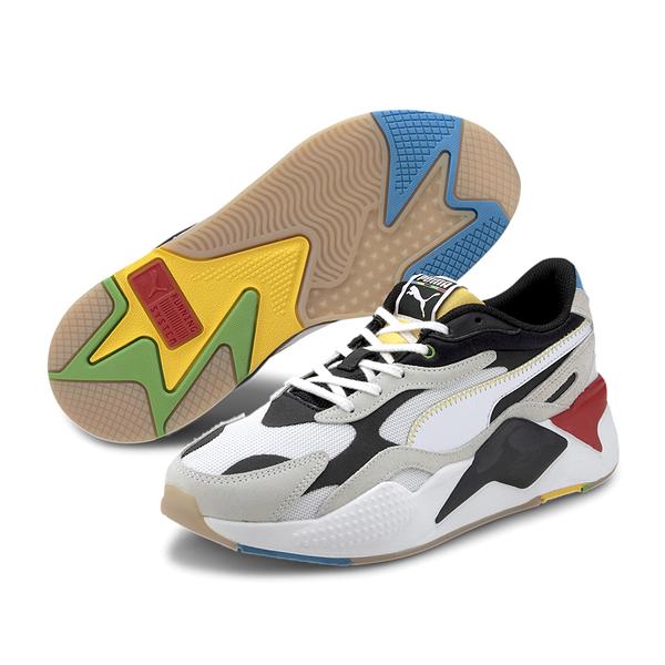 Puma RS-X 米白 男女 運動鞋 老爹鞋 慢跑鞋 鋼彈 厚底 休閒鞋 慢跑鞋 37330801