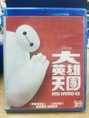 挖寶二手片-Q00-385-正版BD【大英雄天團 3D+2D】-藍光動畫 影印海報