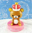【震撼精品百貨】Rilakkuma San-X 拉拉熊懶懶熊~擺飾-皇冠哥哥#04193