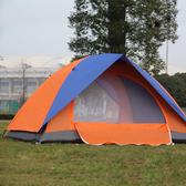 帳篷戶外雙人雙層帳篷防雨野營單人帳篷超輕旅游露營方便裝備