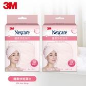 3M Nexcare 纖柔快乾頭巾-粉紅x2入
