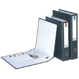 [奇奇文具]【立強 拱型夾】 立強 R60SA黑 拱型夾/檔案夾/資料夾/文件夾
