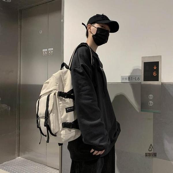 後背包男時尚女書包電腦包【愛物及屋】
