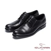 CUMAR英倫紳士 經典牛津正式皮鞋-黑