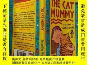 二手書博民逛書店THE罕見CAT MUMMY:貓媽媽Y200392