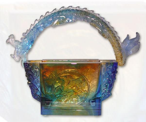 鹿港窯~居家開運水晶琉璃【縱橫四海】擺飾 ◆附精美包裝◆免運費送到家
